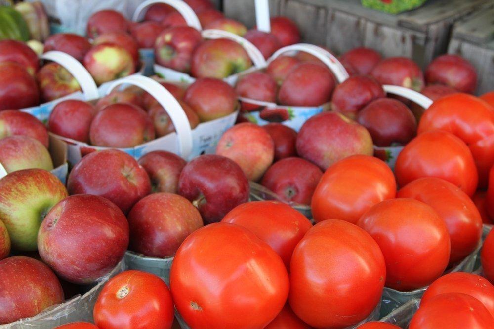 Помидоры и яблоки помогают восстановить лёгкие