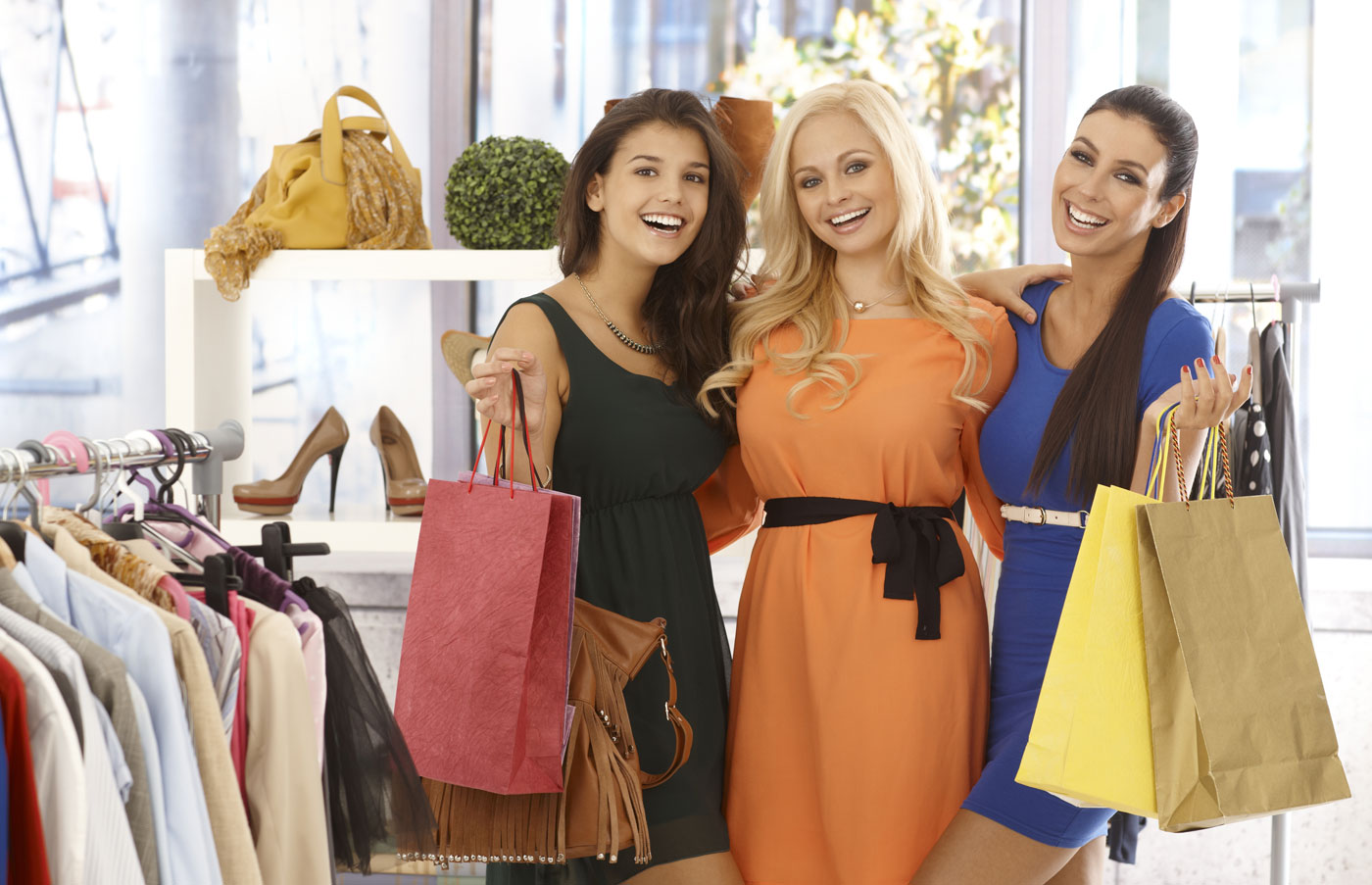 Магазин Женской Одежды Для Счастливых Женщин